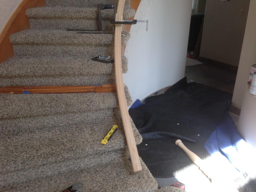 curve railing
